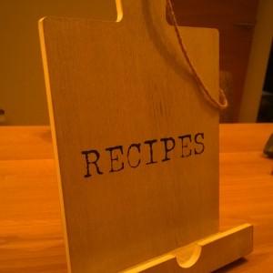 Plog aankoop landleven kookboekstandaard