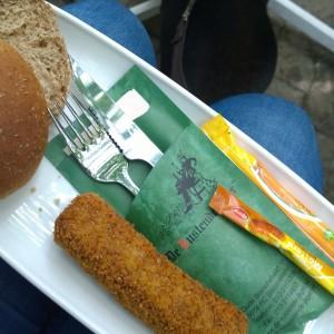 Plog augustus 2015 lunch broodje kroket rustende jager