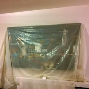 Plog augustus 2015 schilderij beschermen verbouwing
