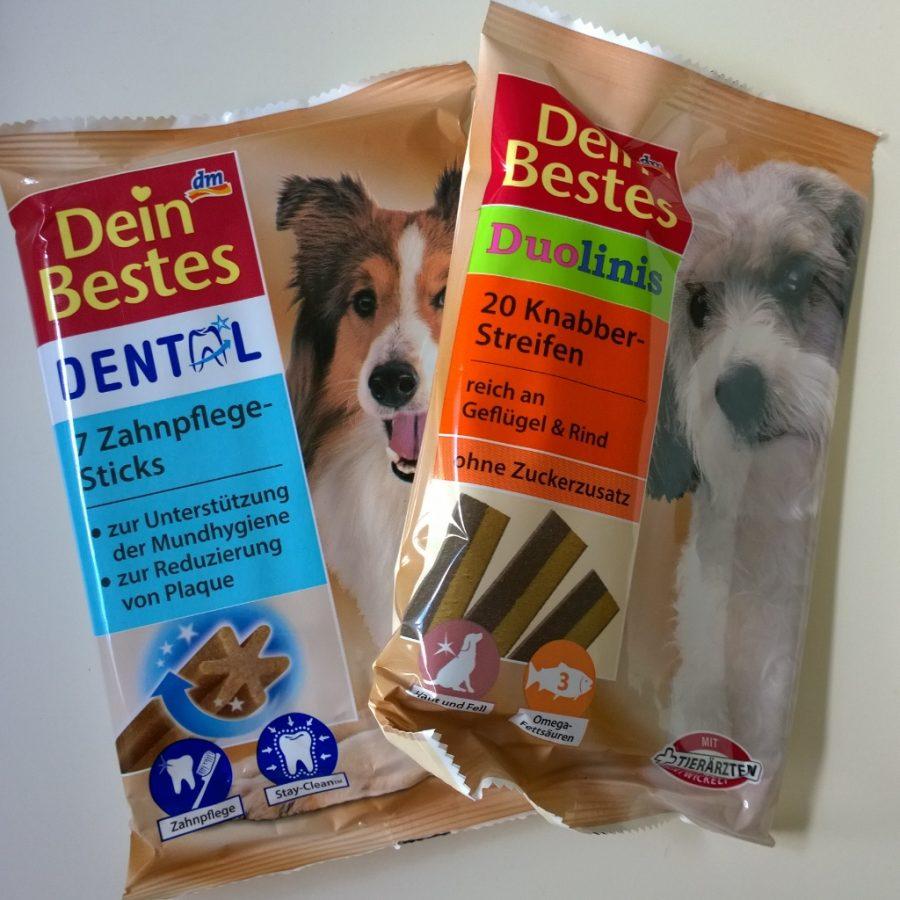 Plog augustus 2016 DM aankopen hondensnacks