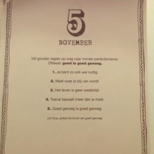 Plog gouden regels perfectionisme flowmagazine
