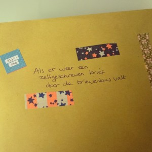 Post it project brief voor Anna