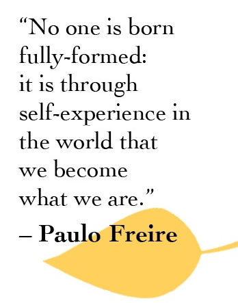 Quote self experience