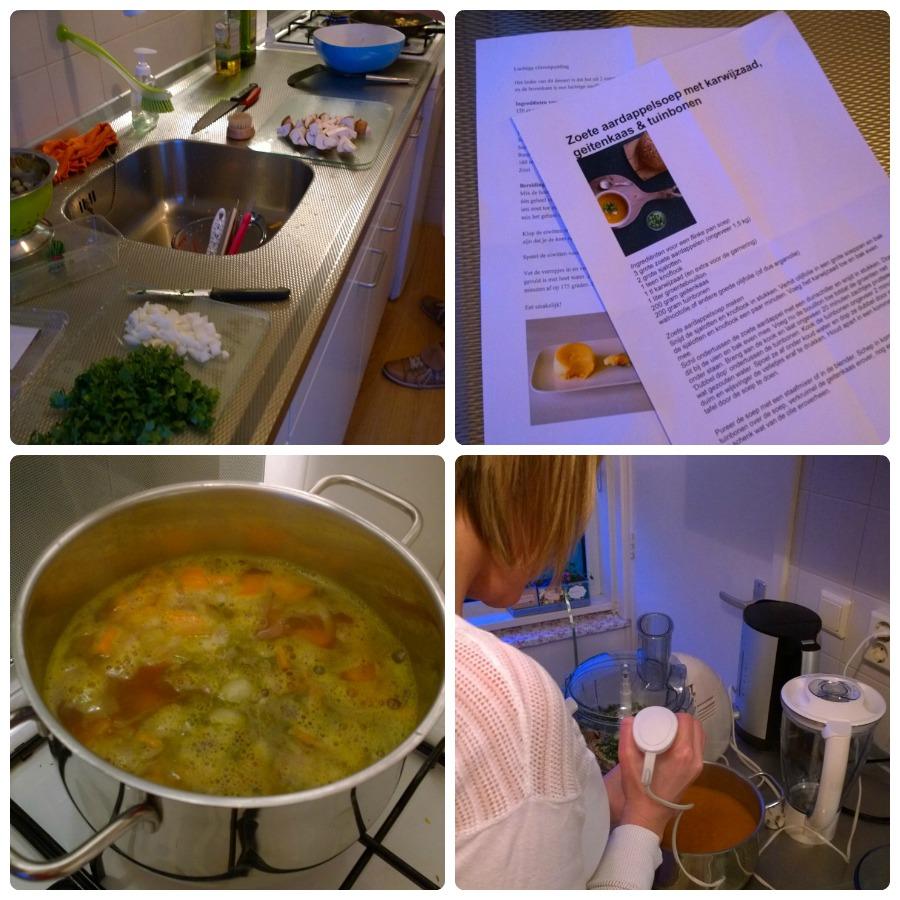 Recepten voorbereiding kookclub