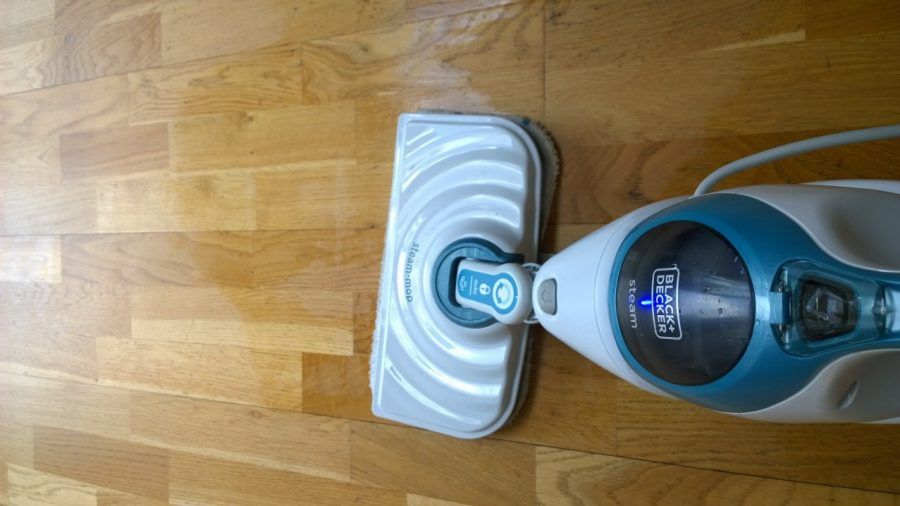Review black decker steam mop