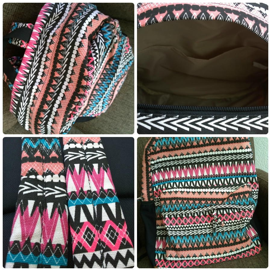 Sevenbien aztec backpack