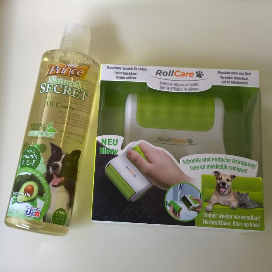 Shampoo hond rollcare haren absorberen ranzijn