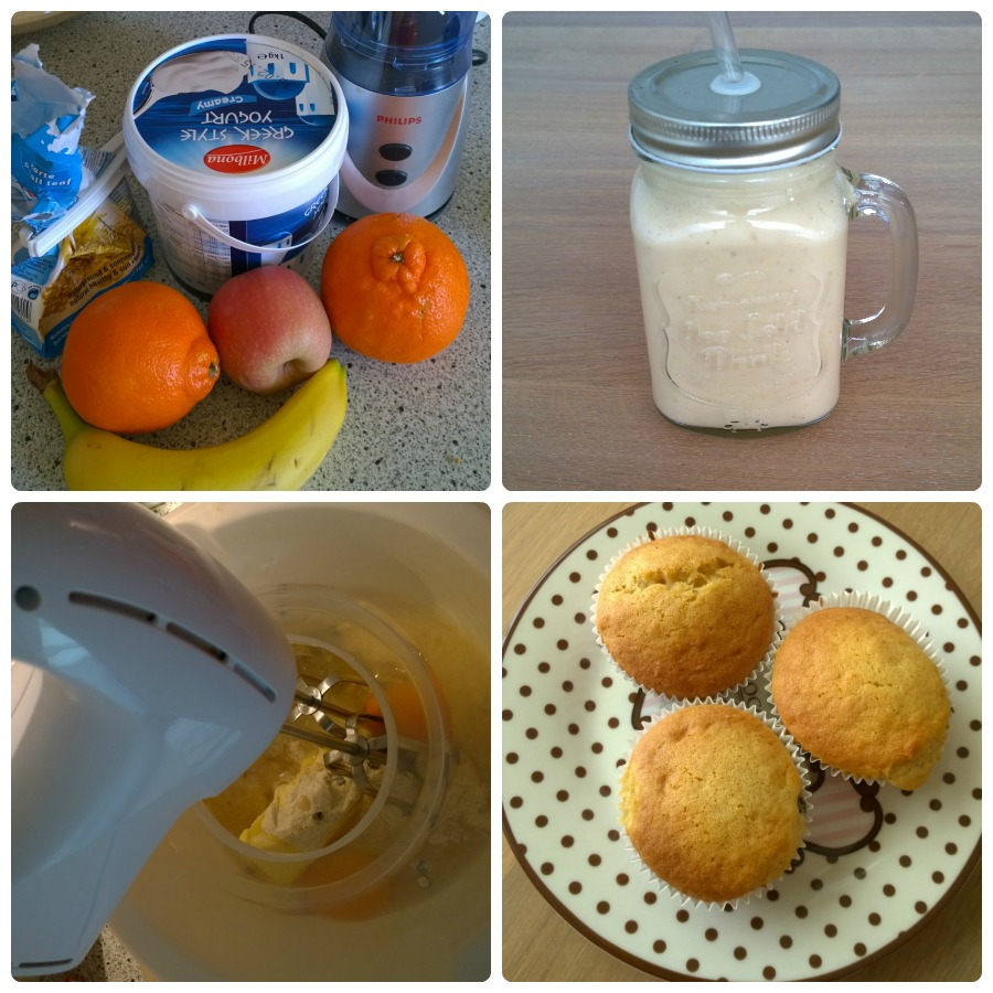 Smoothie muffins home made challenge