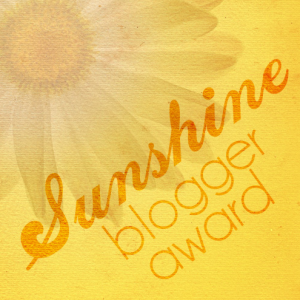 Sunshine blogger award logo