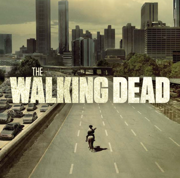 TV serie van het moment the walking dead