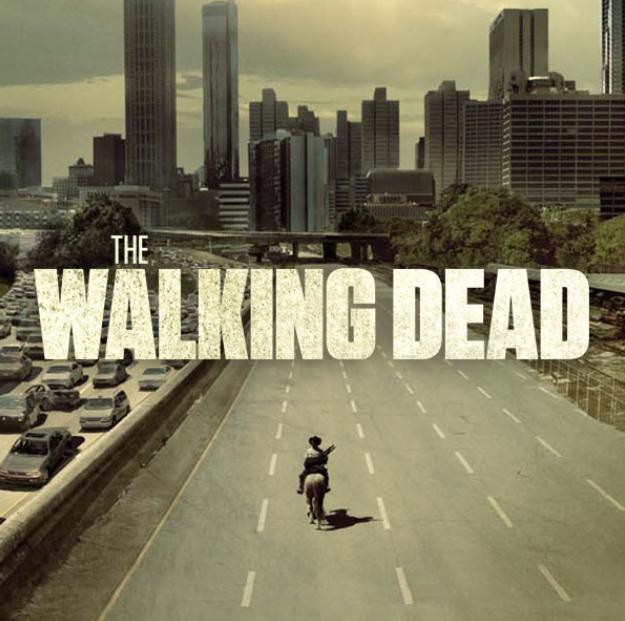 TV serie van het moment the walking dead