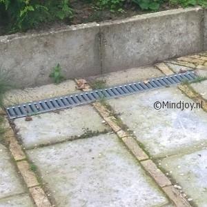 Tuin aanleggen afwatering