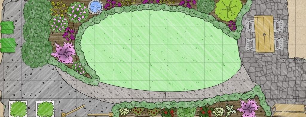 Tuin aanleggen eigen ontwerp