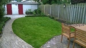 Tuin aanleggen nieuwe situatie voorkant