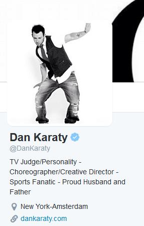 Twitter account DanKaraty