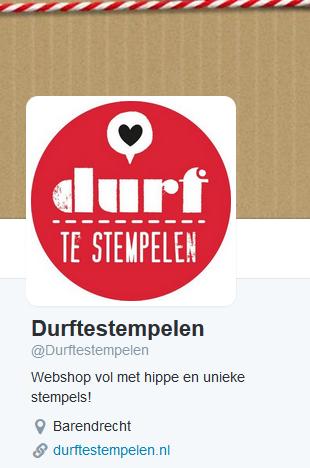 Twitter account Durftestempelen