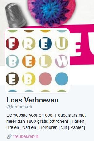Twitter account Freubelweb
