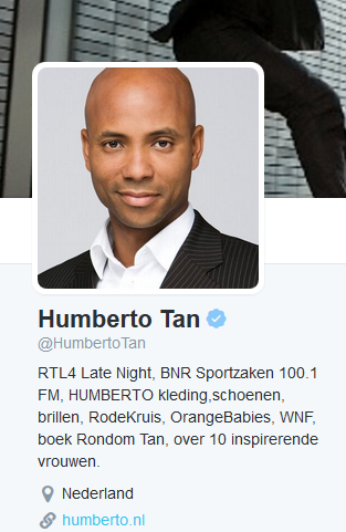 Twitter account HumbertoTan