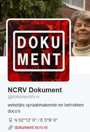 Twitter account dokumentncrv