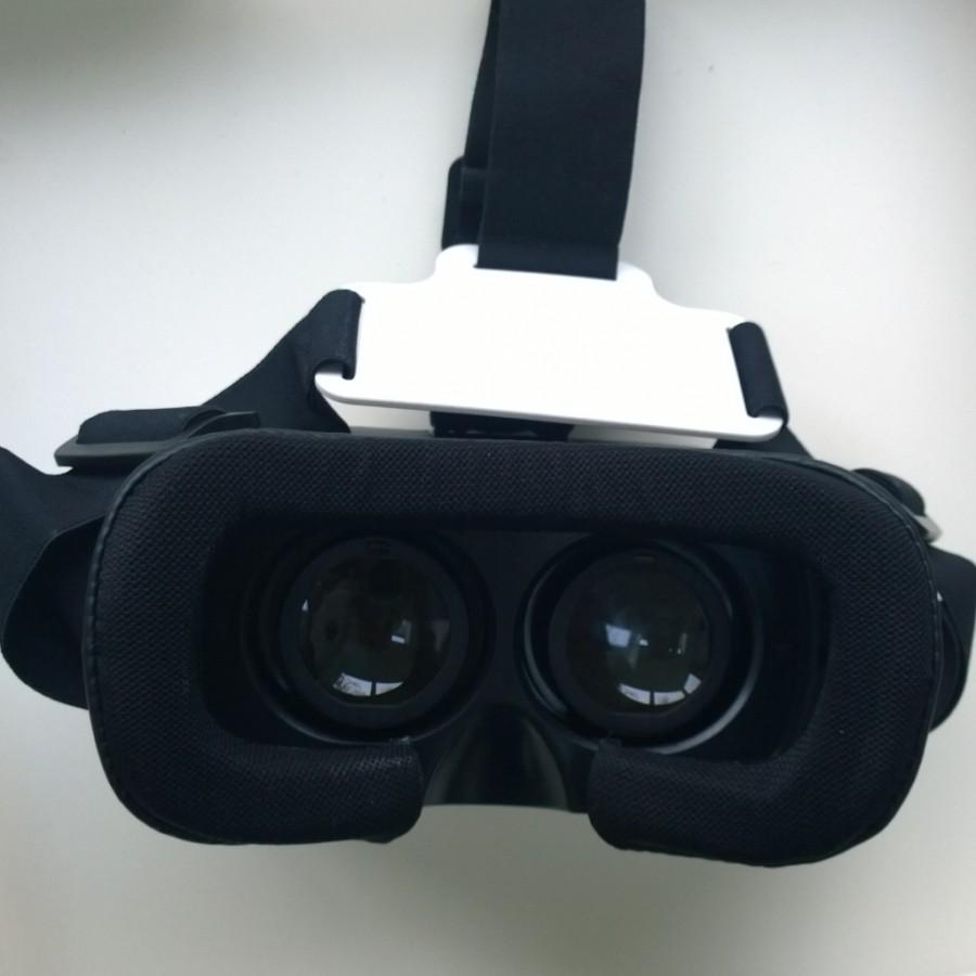 VR bril met banden