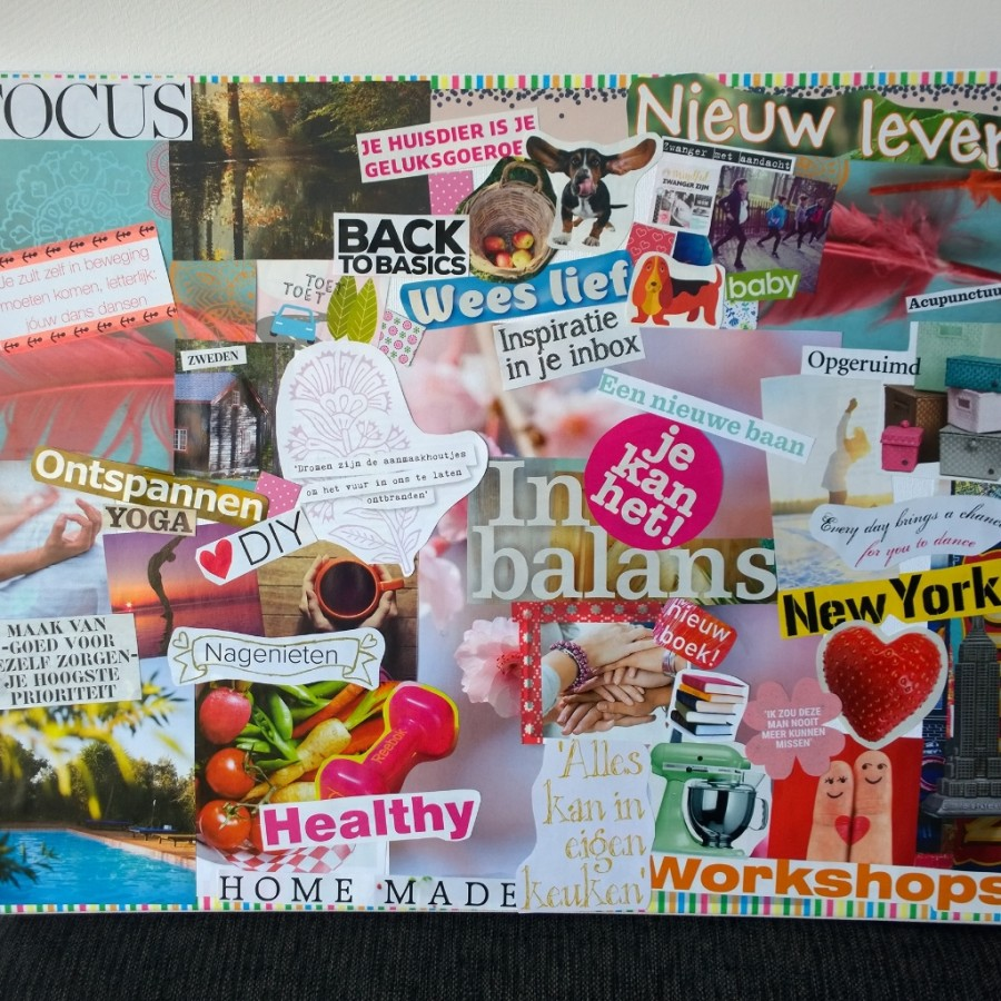 Vision board mindjoy 2016