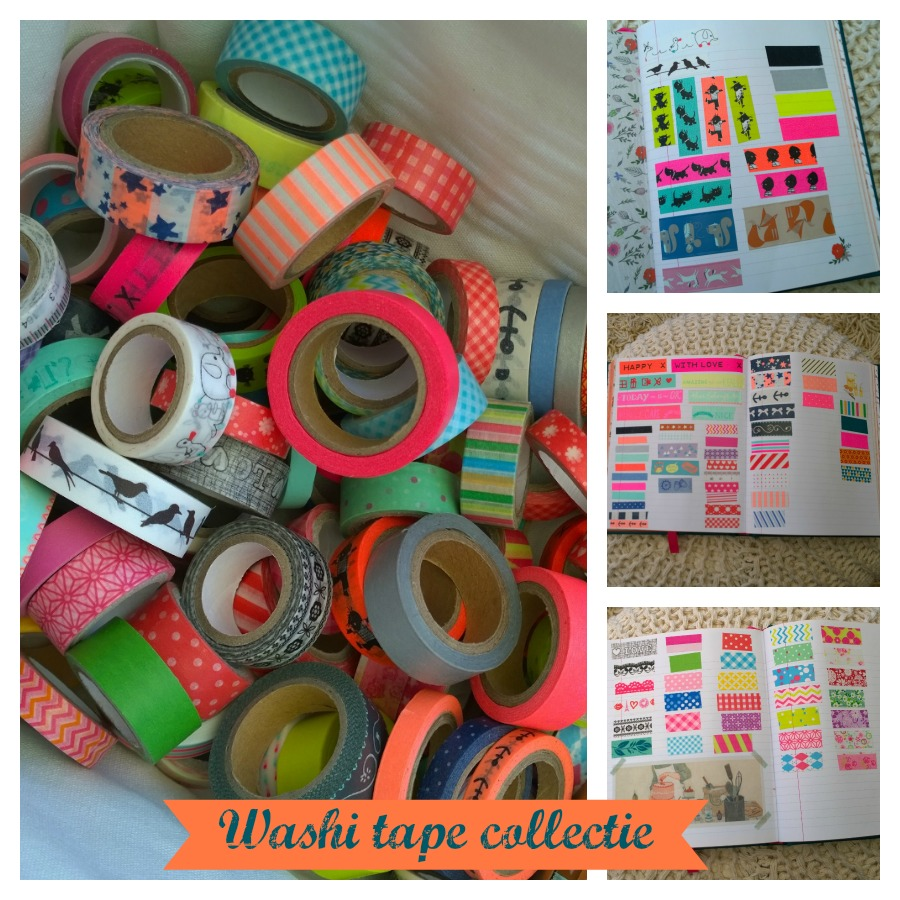 Washi tape tag collectie mindjoy