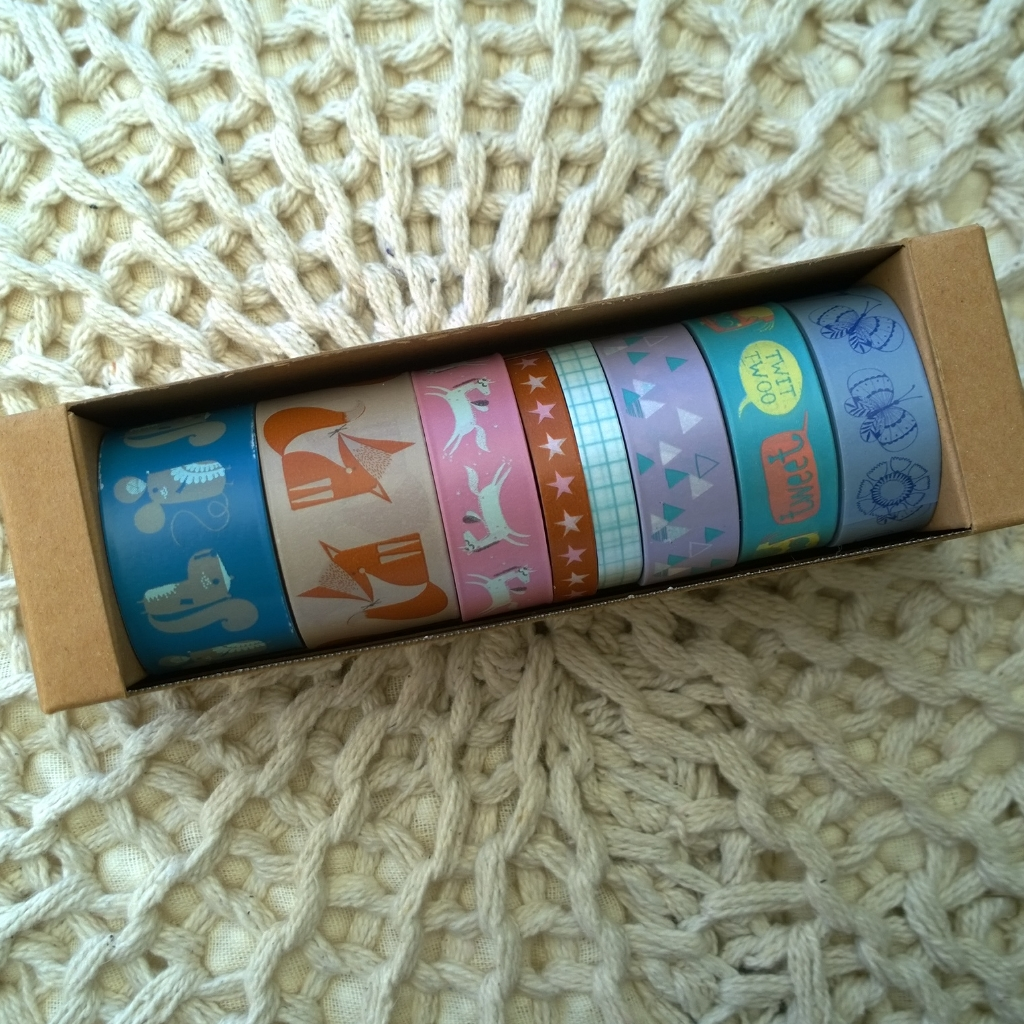 Washi tape tag duurste tapes