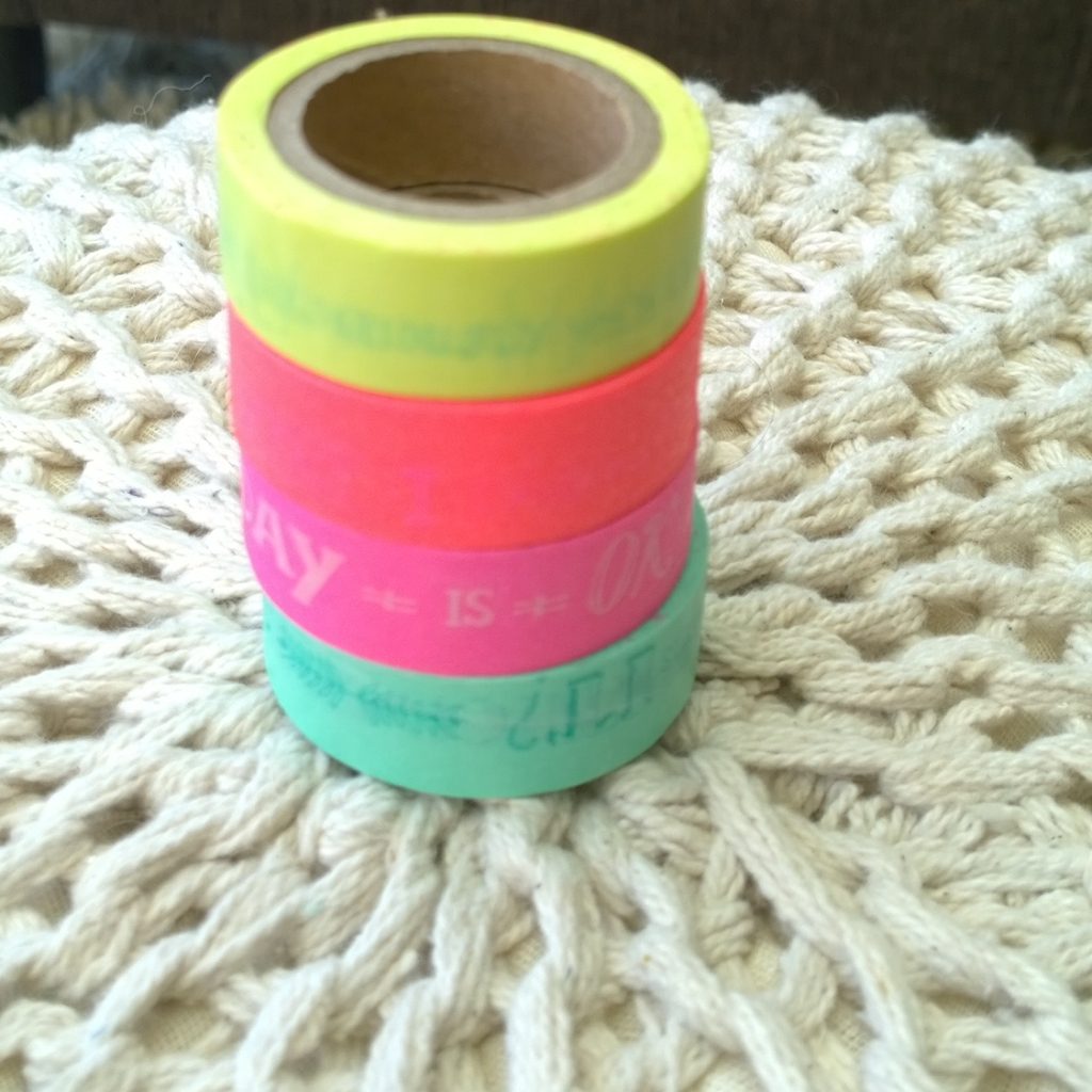 Washi tape tag minst favorieten