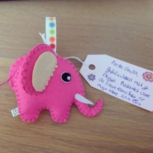 Winactie Els zelfgemaakte olifant
