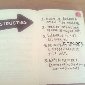 Wreck this journal instructie