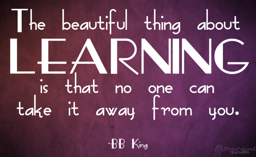 learning bb king quote