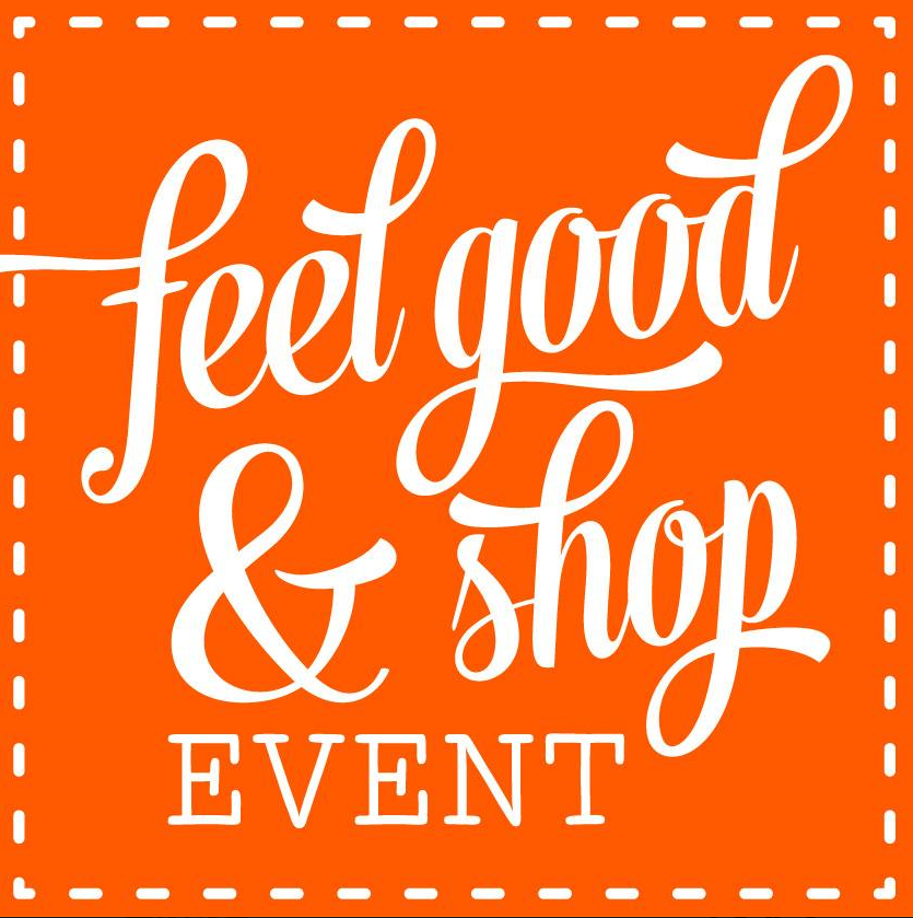 logo feel good shop event
