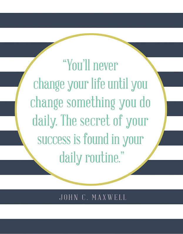 mindfulness quotes change daily routine