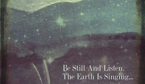 mindfulness quotes listen earth singing