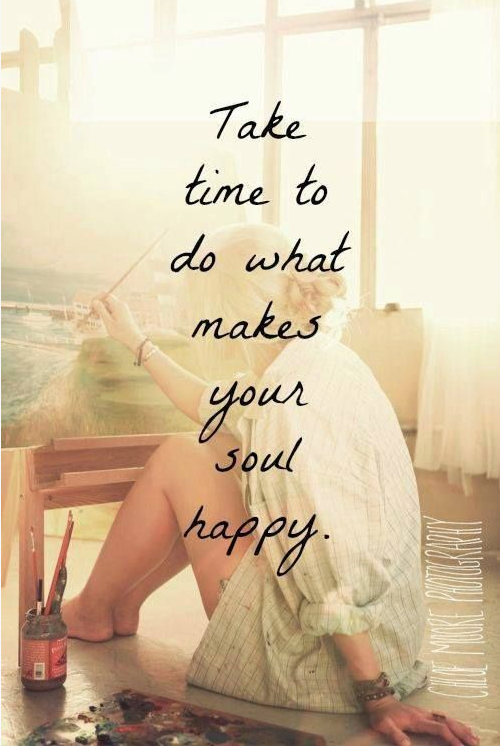 mindfulness quotes time make soul happy