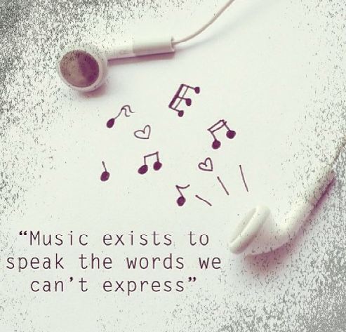 music speaks our words quote