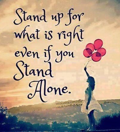 stand up what's right