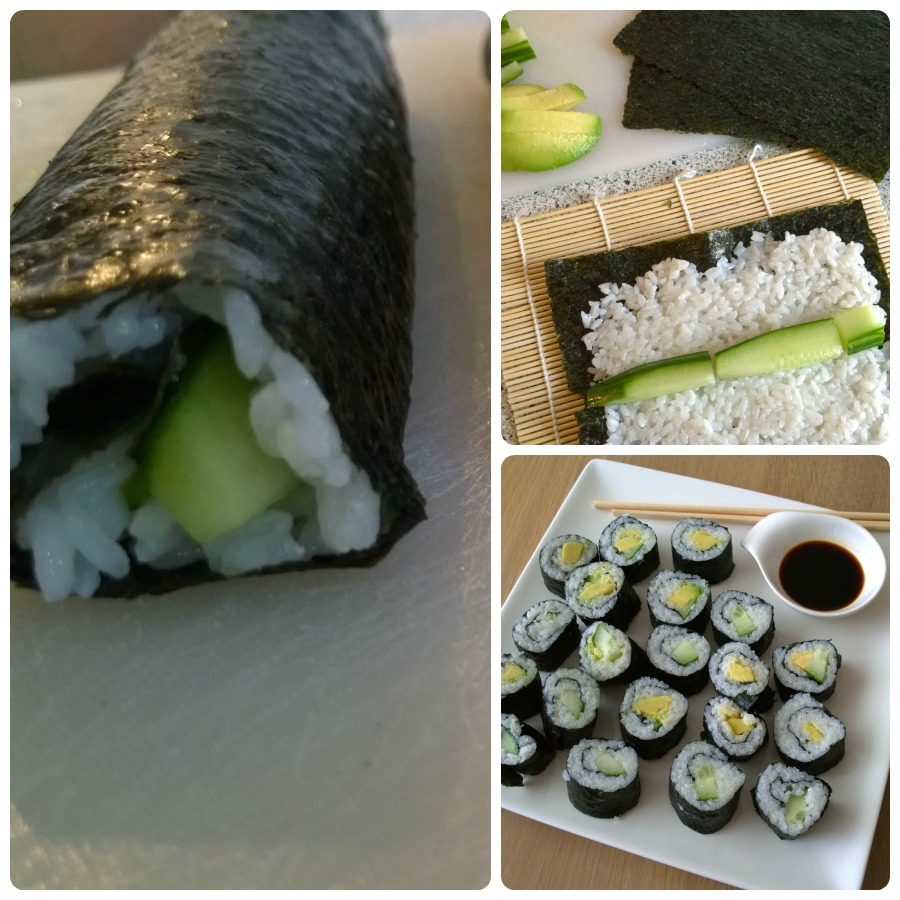 vegetarische maki home made challenge