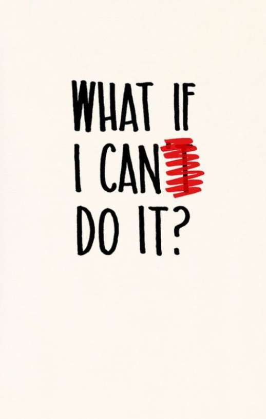 what if can do it quote