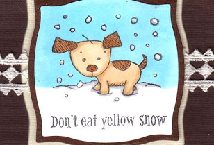 Don't eat the yellow snow header