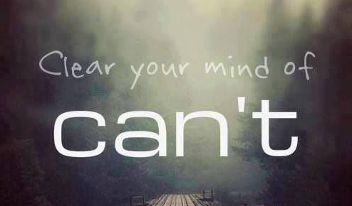 Mindfulness clear your mind of can't quote