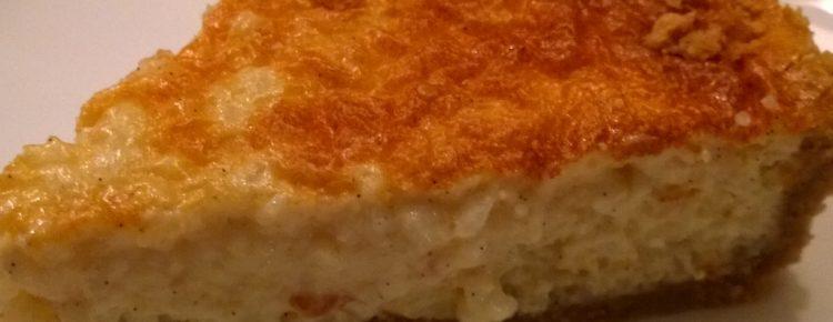 Rijsttaart koekkruidenbodem recept