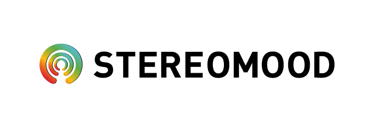 Stereomood logo website
