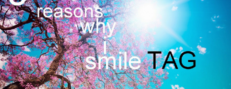 Tag 5 reasons why i smile logo